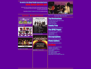 deep-purple.net screenshot