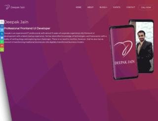 deepakjain.co.in screenshot