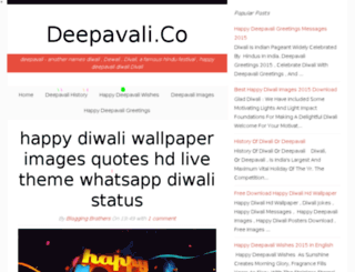 deepavali.co screenshot