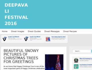 deepavalifestival.co.in screenshot