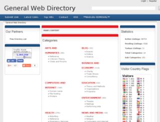 deepdirectory.octomatic.com screenshot
