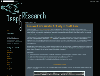 deependresearch.org screenshot