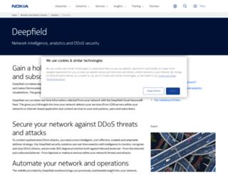 deepfield.net screenshot