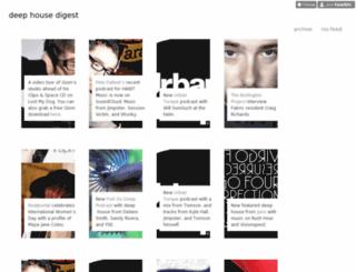 deephousedigest.com screenshot