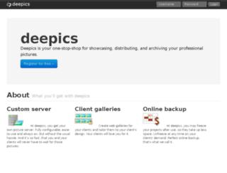 deepics.com screenshot