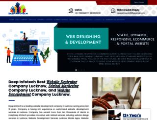deepinfotech.co.in screenshot