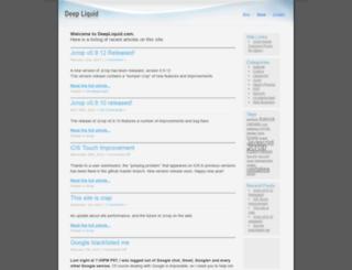 deepliquid.com screenshot