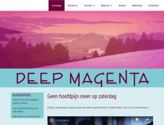 deepmagenta.nl screenshot