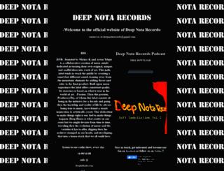 deepnotarecords.com screenshot