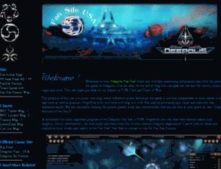 deepolis.tidesofwar.net screenshot