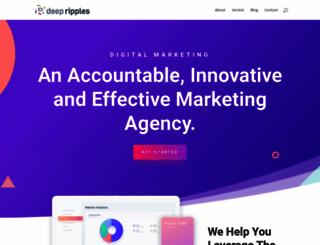 deepripples.com screenshot