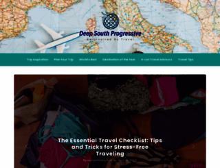 deepsouthprogressive.com screenshot