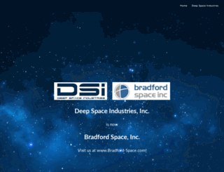deepspaceindustries.com screenshot
