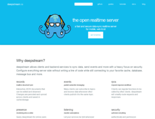 deepstream.io screenshot