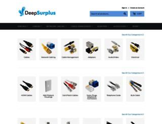 deepsurplus.com screenshot