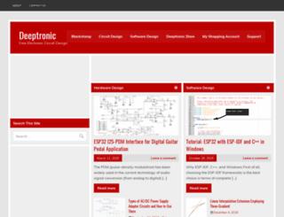 deeptronic.com screenshot