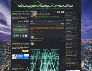 deepvibes.co.uk screenshot