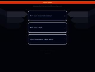 deepwaterhorizonsettlements.com screenshot
