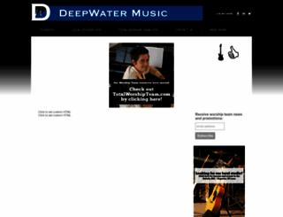 deepwatermusic.net screenshot