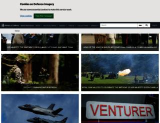 defenceimagery.mod.uk screenshot