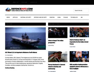 defenceinfo.com screenshot