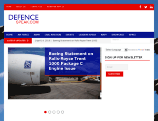 defencespeak.com screenshot