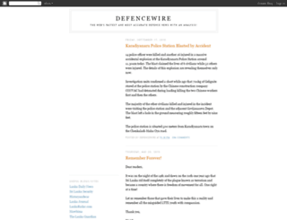defencewire.blogspot.com screenshot