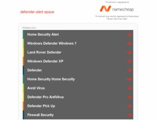 defender-alert.space screenshot