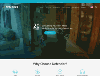 defender-usa.com screenshot
