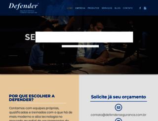 defenderseguranca.com.br screenshot