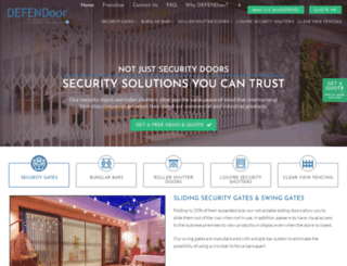 defendoor.co.za screenshot