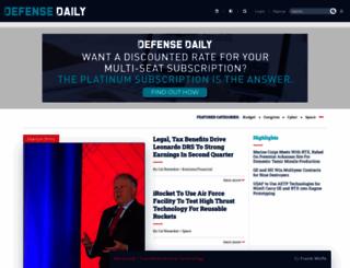 defensedaily.com screenshot