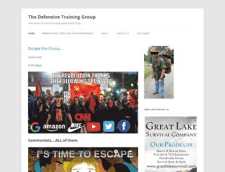 defensivetraininggroup.wordpress.com screenshot