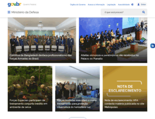 defesa.gov.br screenshot