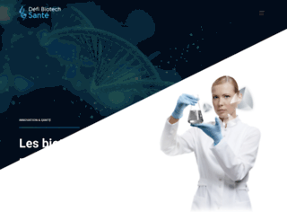 defi-biotech-sante.org screenshot