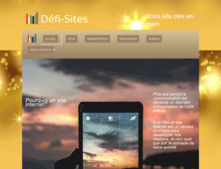 defi-sites.com screenshot