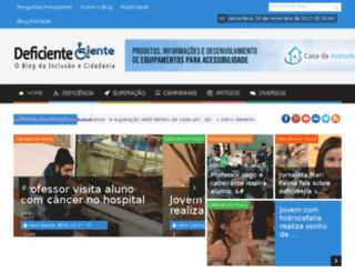 deficienteciente.com.br screenshot