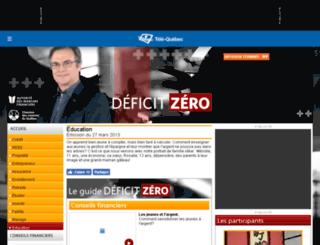 deficitzero.telequebec.tv screenshot