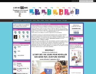 defides100jours.com screenshot