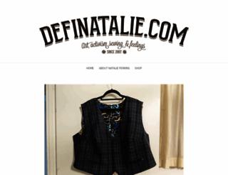 definatalie.com screenshot