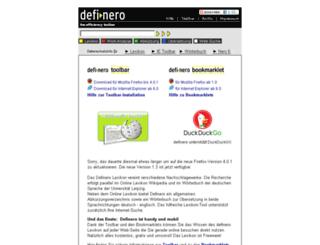 definero.de screenshot