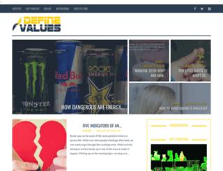 definevalues.com screenshot