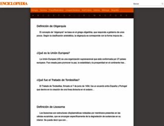 definicion.mx screenshot