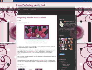 definitely-addicted.blogspot.com screenshot