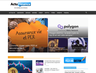 definition.actufinance.fr screenshot