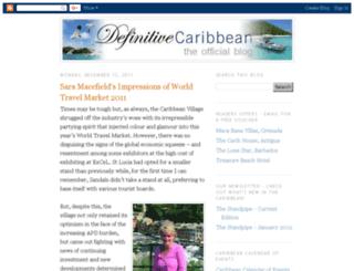 definitivecaribbean.blogspot.com screenshot