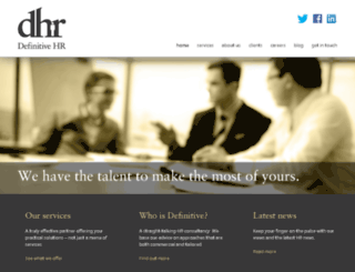 definitivehr.com screenshot