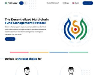 definix.com screenshot