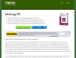 defrag-pc.com screenshot