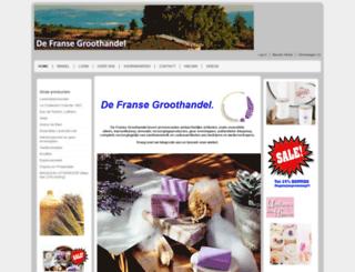 defransegroothandel.nl screenshot